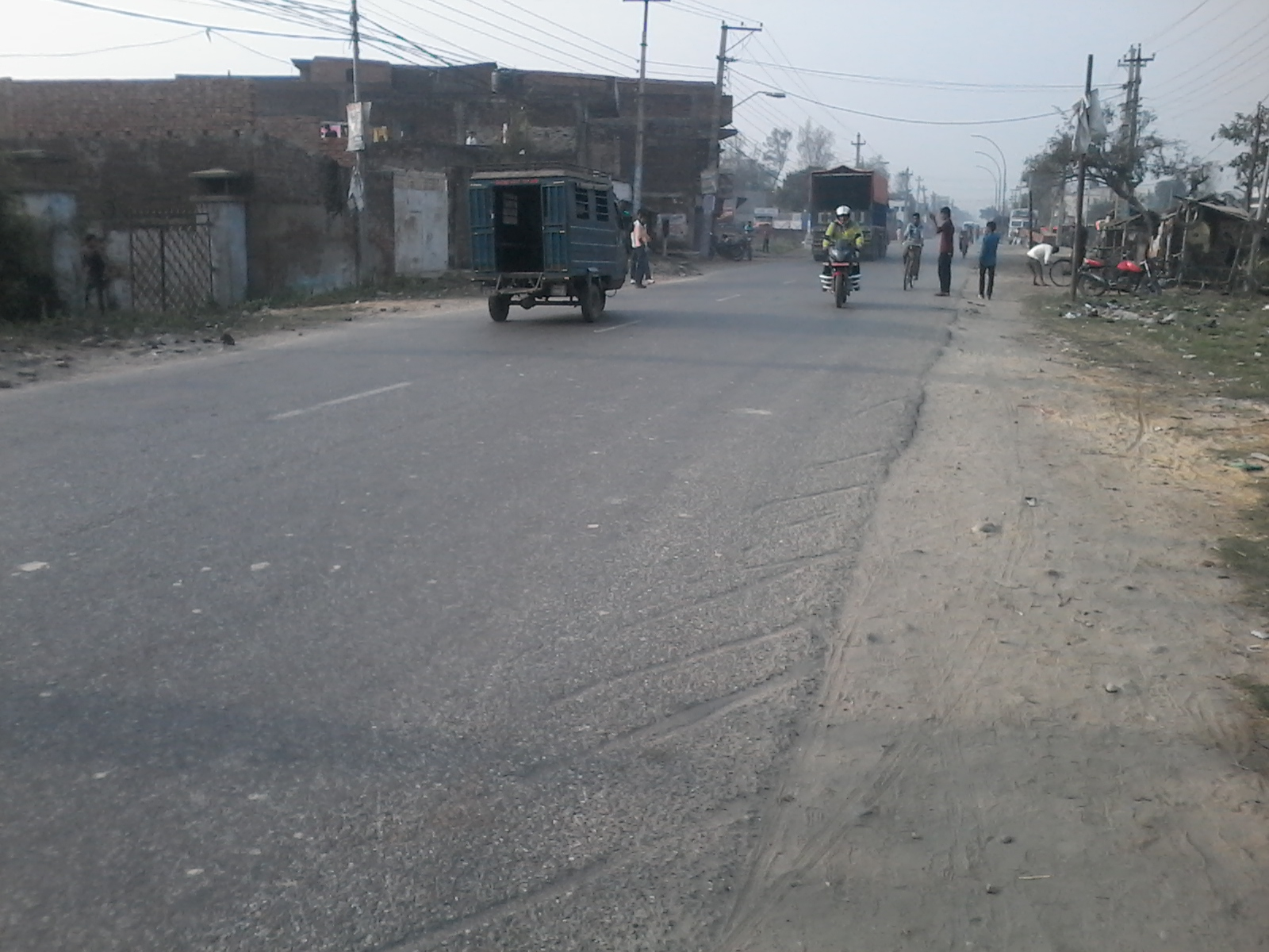 Road Network Development Project, ( Mudhe - Sanishchare - Khadbari Road )