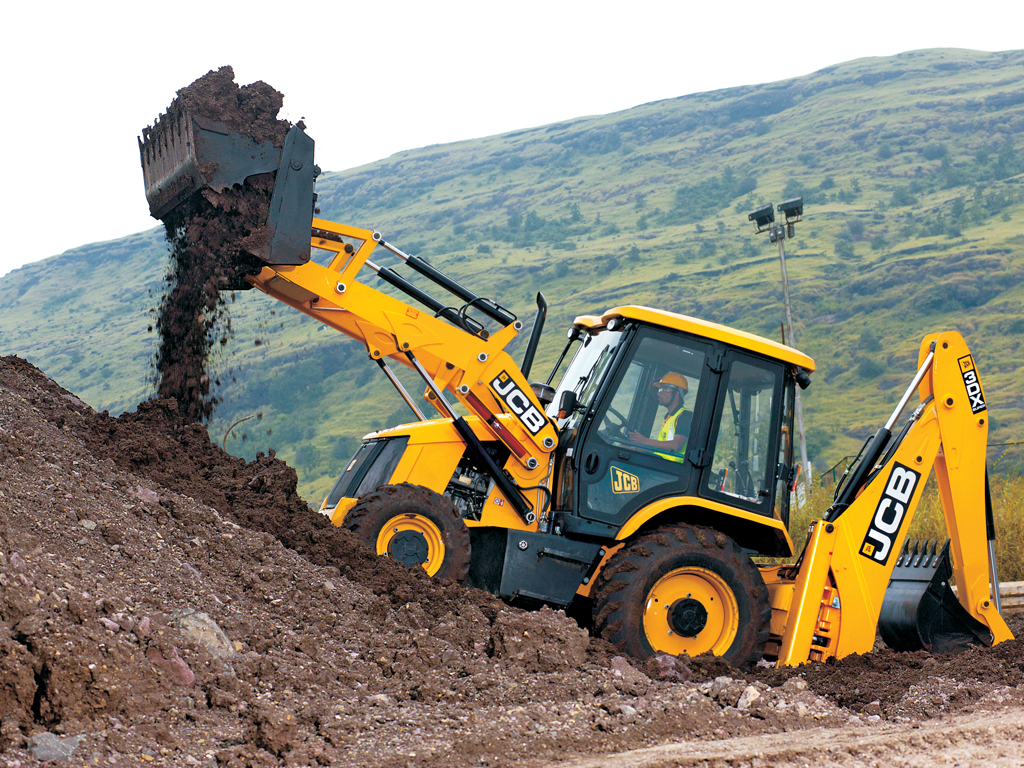 Backhoe Loader: JCB 3 dx
