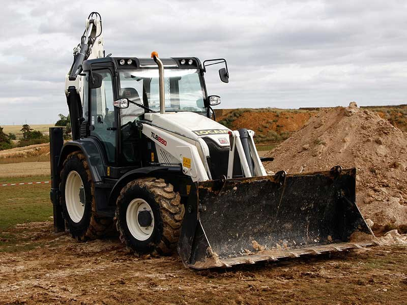 Backhhoe Loader: Terex